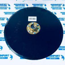 15350005 Диск сошника в зборі 15х3.5 в комплекті з підшипником та металевою кришкою Kinze (Кінзе)